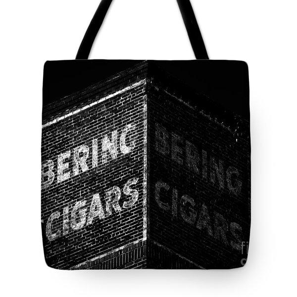 Bering Cigar Factory Tote Bag by David Lee Thompson