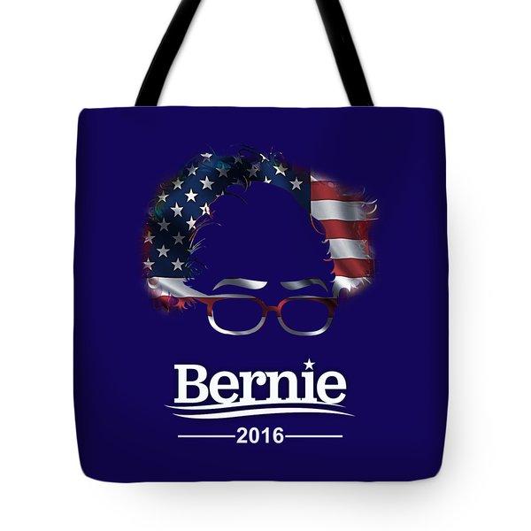 Bernie Sanders 2016 Tote Bag by Marvin Blaine
