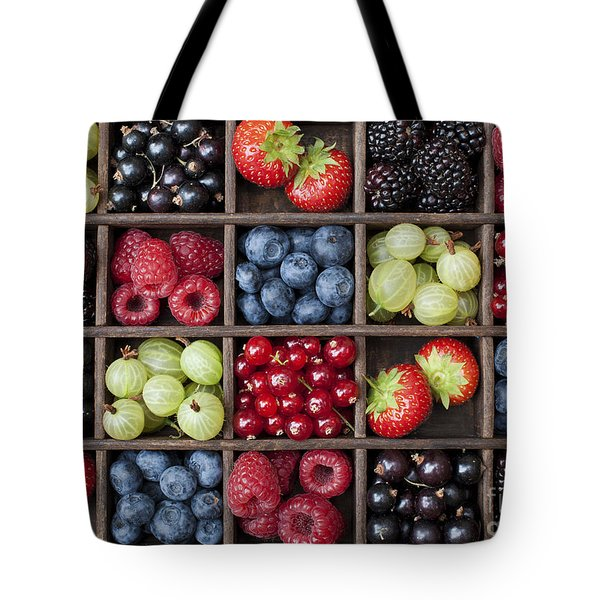 Berry Harvest Tote Bag by Tim Gainey