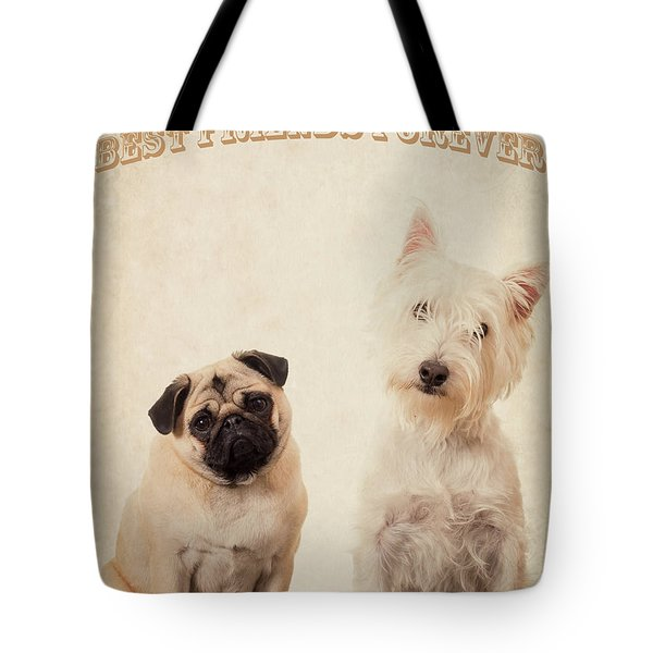 Best Friends Forever Tote Bag by Edward Fielding