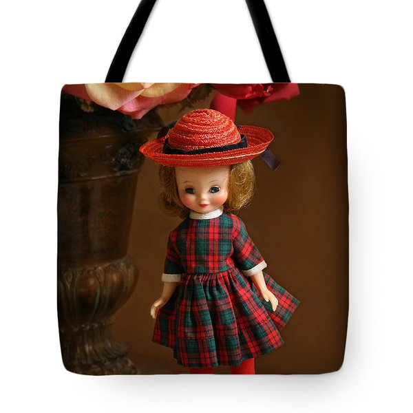 Betsy Doll Tote Bag by Marna Edwards Flavell