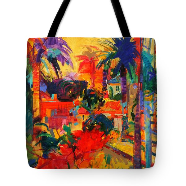 Beverly Hills Tote Bag by Peter Graham
