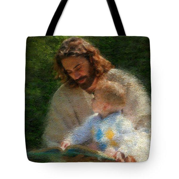 Bible Stories Tote Bag by Greg Olsen