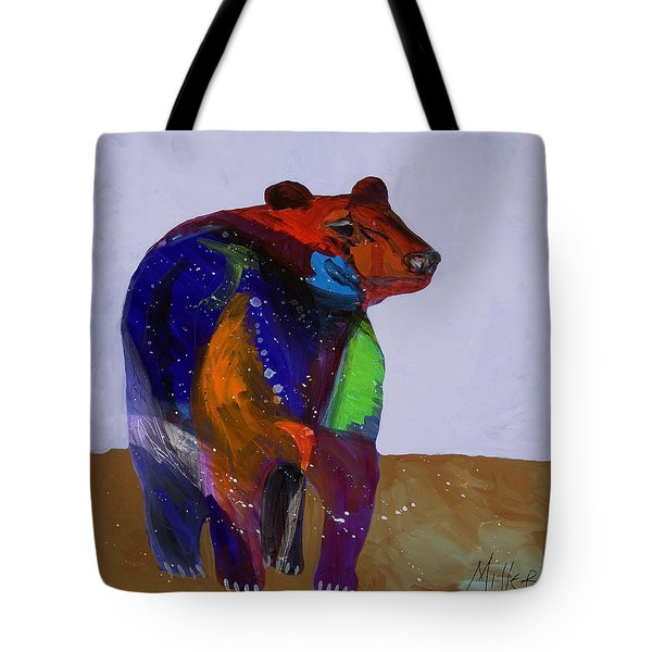 Big Bear Tote Bag by Tracy Miller