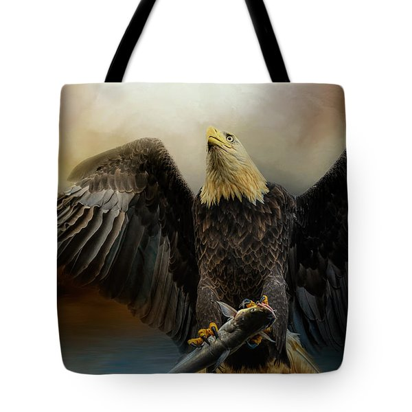 Big Catch Tote Bag by Jai Johnson