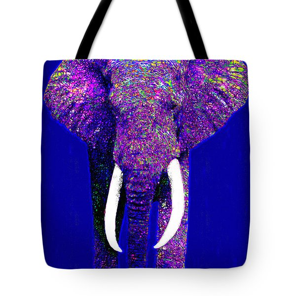 Big Elephant 20130201m118 Tote Bag by Wingsdomain Art and Photography