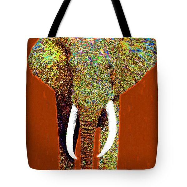 Big Elephant 20130201p20 Tote Bag by Wingsdomain Art and Photography