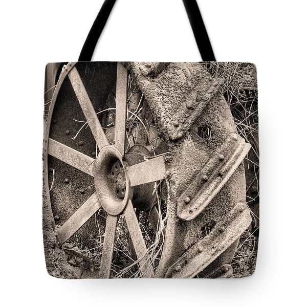 Big Iron II Tote Bag by JC Findley