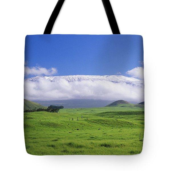 Big Island, Waimea Tote Bag by Peter French - Printscapes