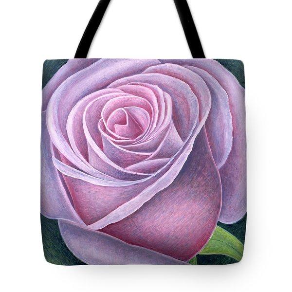Big Rose Tote Bag by Ruth Addinall