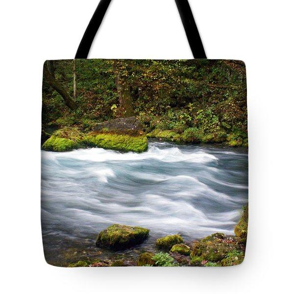 Big Spring Branch Tote Bag by Marty Koch