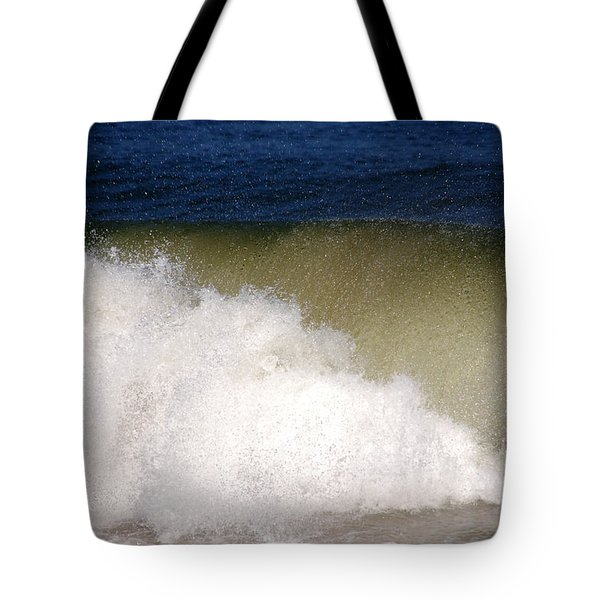 Big Waves Tote Bag by Susanne Van Hulst