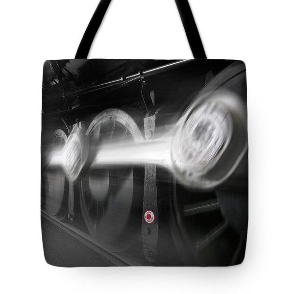 Big Wheels In Motion Tote Bag by Mike McGlothlen