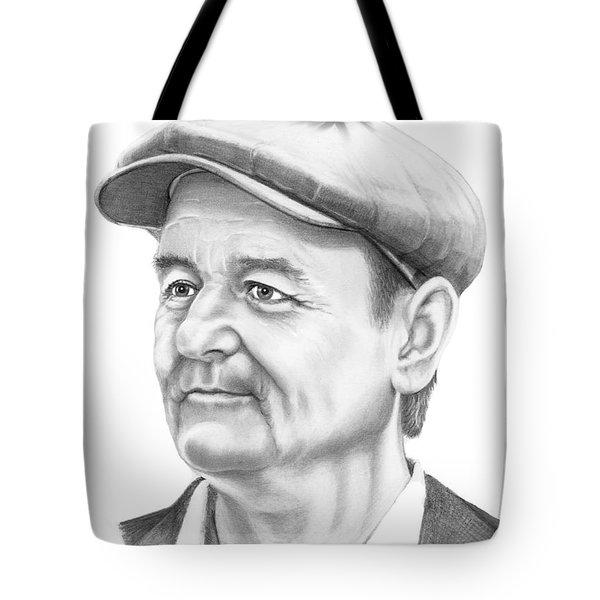 Bill Murray Tote Bag by Murphy Elliott