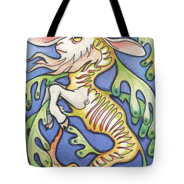 Billy Dragon Tote Bag by Amy S Turner