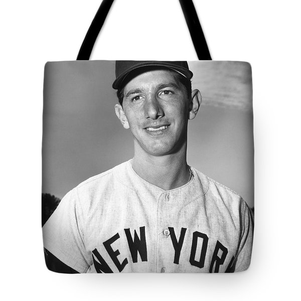 Billy Martin (1928-1989) Tote Bag by Granger