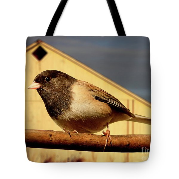 Bird House . 40D11078 Tote Bag by Wingsdomain Art and Photography