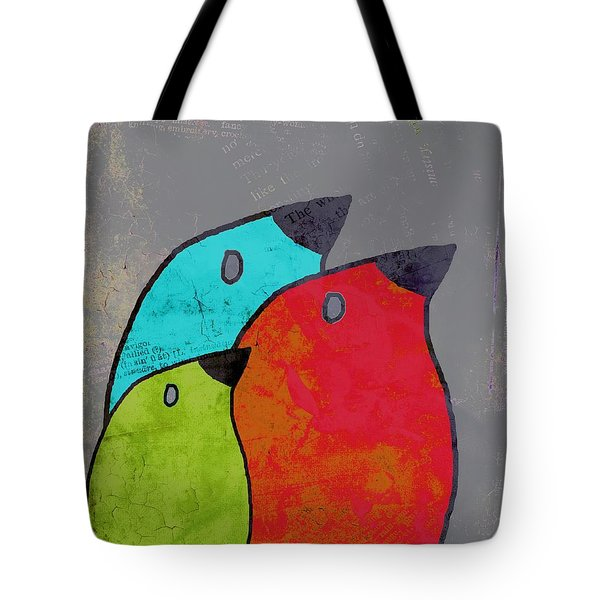 Birdies - V11b Tote Bag by Variance Collections