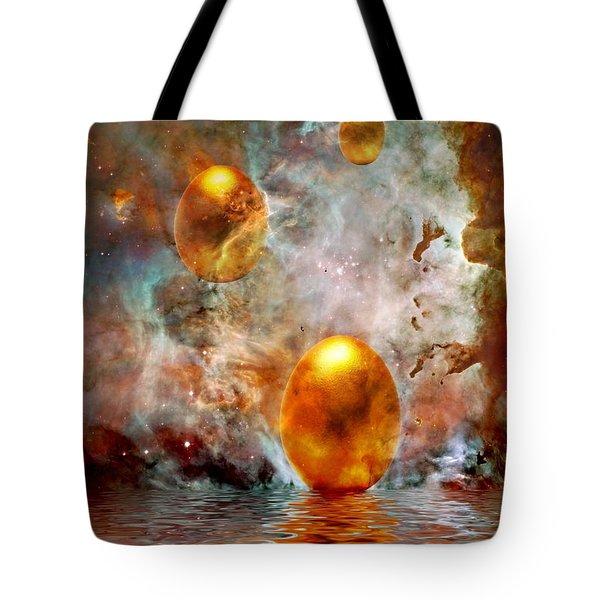 Birth Tote Bag by Jacky Gerritsen