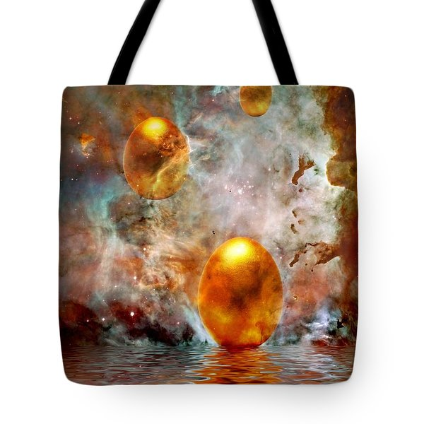 Birth Tote Bag by Photodream Art