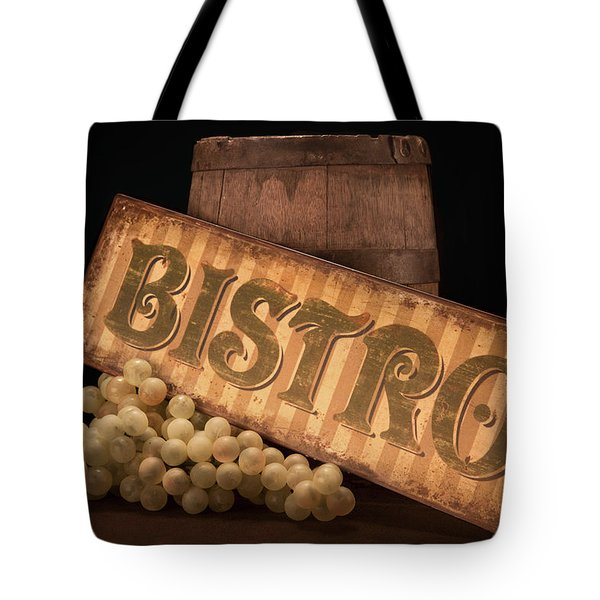 Bistro Still Life III Tote Bag by Tom Mc Nemar