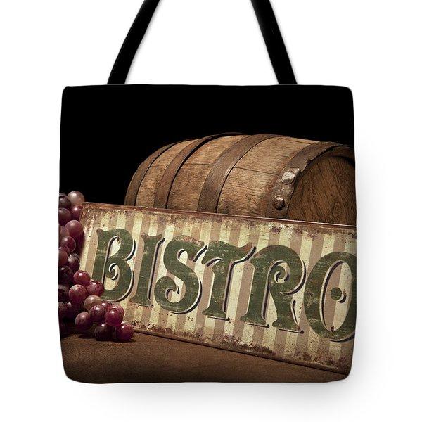 Bistro Still Life Iv Tote Bag by Tom Mc Nemar