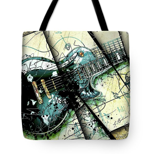 Black Beauty C 1  Tote Bag by Gary Bodnar