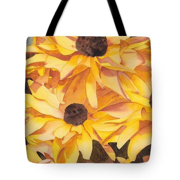 Black Eyed Susans Tote Bag by Ken Powers