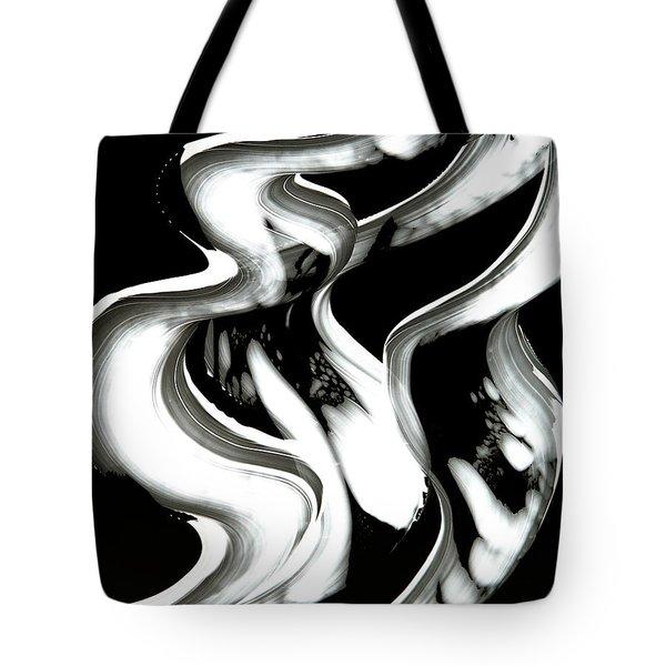 Black Magic Inverted Tote Bag by Sharon Cummings
