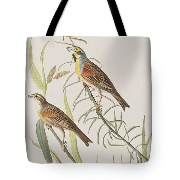 Black-throated Bunting Tote Bag by John James Audubon