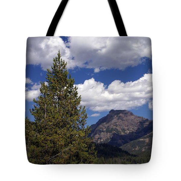 Blacktail Plateau Vertical Tote Bag by Marty Koch