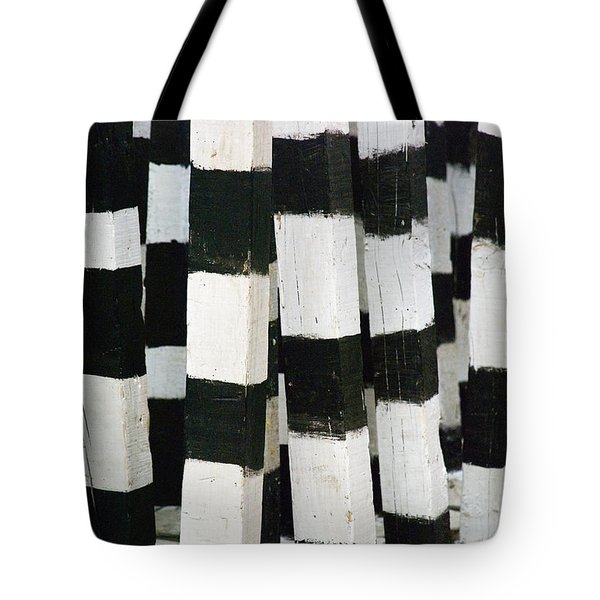 Blanco Y Negro Tote Bag by Skip Hunt