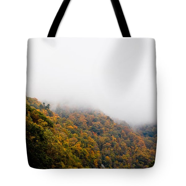 Blanket Of Clouds Tote Bag by DigiArt Diaries by Vicky B Fuller