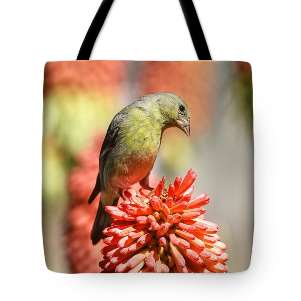 Blending In Tote Bag by Donna Kennedy