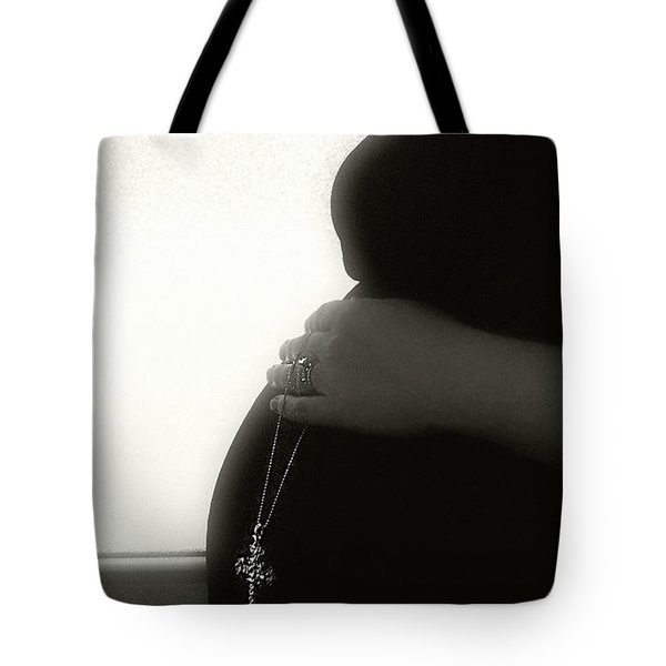 Blessed Tote Bag by Kristie  Bonnewell