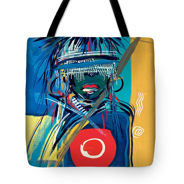 Blind To Culture Tote Bag by Oglafa Ebitari Perrin
