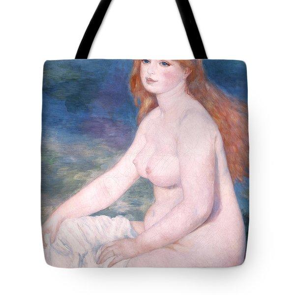 Blonde Bather II Tote Bag by Renoir