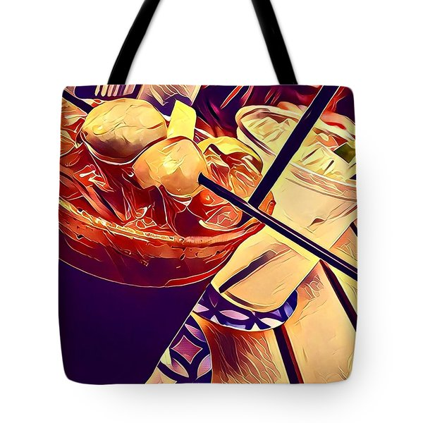 Bloody Mary And Moscow Mule Tote Bag by Frush Photos
