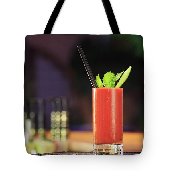 Bloody Mary Forever Tote Bag by Ekaterina Molchanova