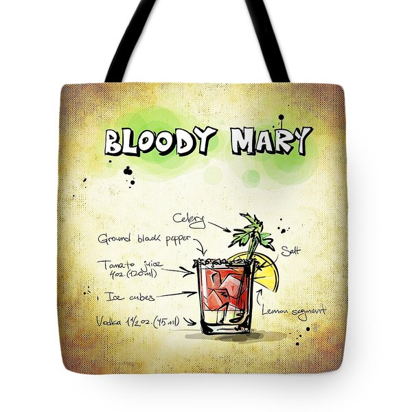 Bloody Mary Tote Bag by Movie Poster Prints