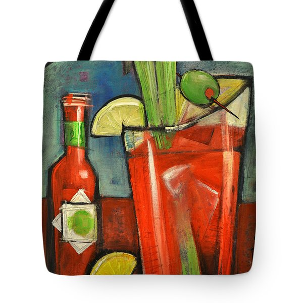 Bloody Mary Tote Bag by Tim Nyberg