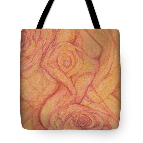 Blossom Tote Bag by Caroline Czelatko