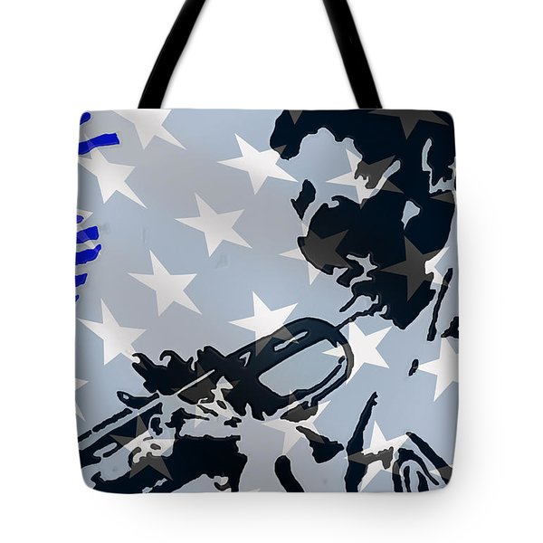 Blow Your Horn Tote Bag by Robert Margetts