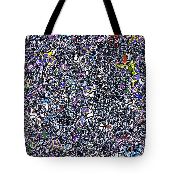 Blue Complex  Tote Bag by Andy  Mercer