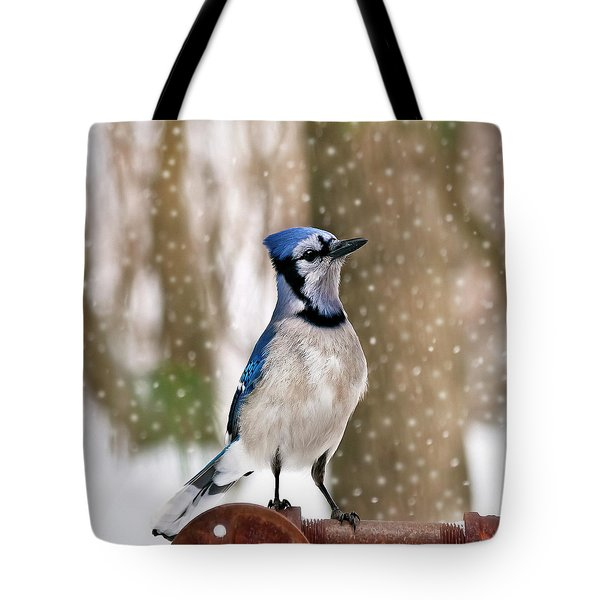 Blue For You Tote Bag by Evelina Kremsdorf