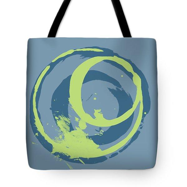 Blue Green 2 Tote Bag by Julie Niemela