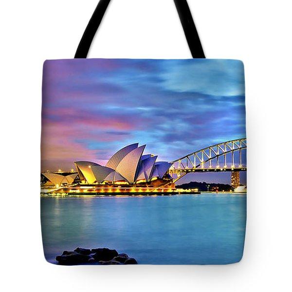 Blue Harbour Tote Bag by Az Jackson