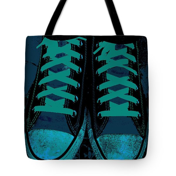 Blue Jean Blues Tote Bag by Ed Smith
