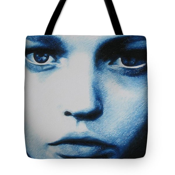 Blue Tote Bag by Lynet McDonald