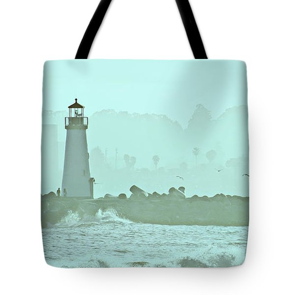 Blue Mist 3 Tote Bag by Marilyn Hunt